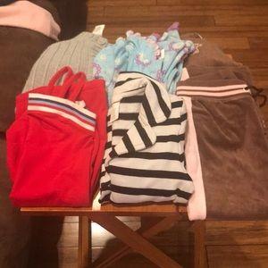 Baby Girl Tommy Hilfiger dress, Disney PJ & more